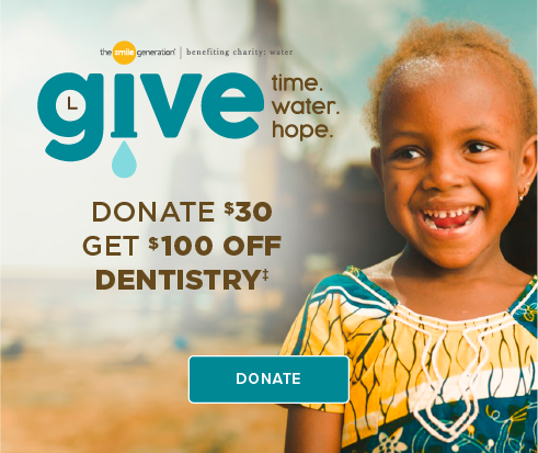 Donate $30, Get $100 Off Dentistry - Visalia  Modern Dentistry